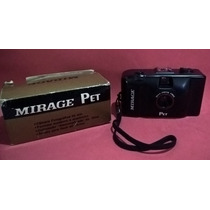 Câmera Fotográfica Mirage Pet Na Caixa Com Manual