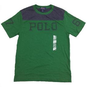 Camiseta Polo Ralph Lauren Estampada Original Tallas Junior