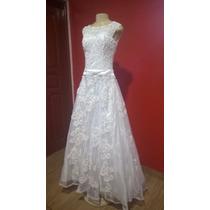 Vestido De Casamento N° 38 Novo
