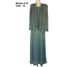 Vestido Dos Piezas R&m Richards Mod. V-057