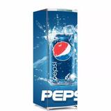 Adesivo De Geladeira Envelopamento Pepsi (geladeira 2 Portas