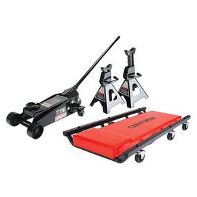 Kit Gato Hidraulico Craftsman 3 Toneladas 2 Torres Y Cama