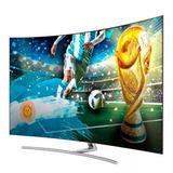 Smart Tv Samsung 75 Pulgadas Hdr Curvo Qled 4k Uhd Smart