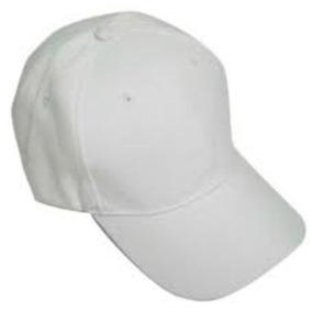 Gorras Blancas Para Bordar Unicolores ( Solo Al Mayor )