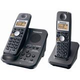 Panasonic Kx-tg3032b Teléfono Inalámbrico De 2,4 Ghz Con Co