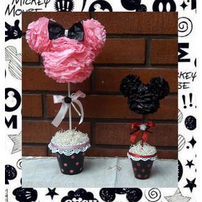 Mickey Y Minnie Centros De Mesa Souvenirs Decoracion Eventos