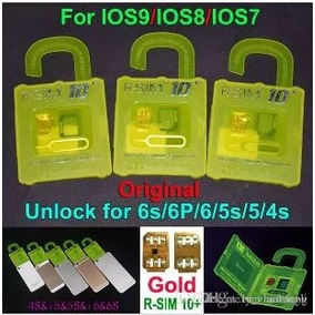 R-sim 10 Chip Desbloqueio Desbloquear Iphone 4s-5-5s-6s