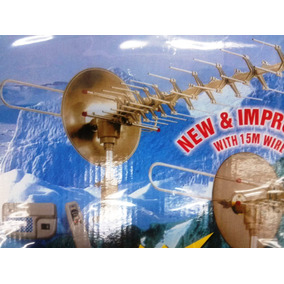 Antena Sna-893tg Sonett Tv Control Remoto, 360 Rotación