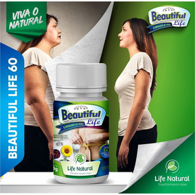 Emagreça Com Beautiful Life Natural Botanical 60 Capsulas