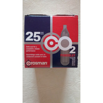 Garrafas Crosman Co2 X 25 Unidades - Juanse Tienda De Pesca