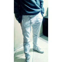 Calça Jeans Saruel Masculina Branca