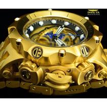 Invicta Venom Hybrid Gold 16804 Dourado Original Completo