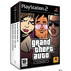 Grand Theft Auto Trilogy Playstation Gta Para Ps2 Sellado