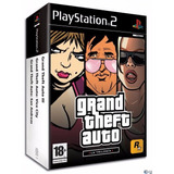 Grand Theft Auto Trilogy Playstation Gta Para Ps2 Sellado