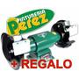 Amoladora De Banco Barbero Profesional 1 Hp Trifasica 380v