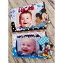 Portaretratos Souvenirs Mickey Mouse Bebé 7x10cm X10unidades