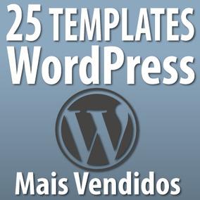 Temas Wordpress Premium - 25 Templates - Sites E Blogs