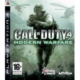 Juego Ps3 Call Of Duty 4 - Modern Warfare