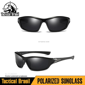 Óculos De Sol Maculino Polarizado Hd Uv400 Dubery Black gun 116f53e596
