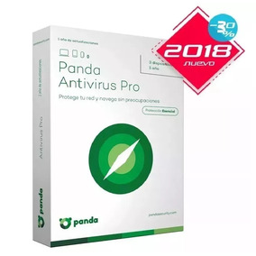 Panda Antivirus Pro 2018 Licencia 10 Pc 1 Año Windows