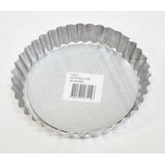 Molde Frola Tartera Rizada Desmontable N 16 Aluminio Real
