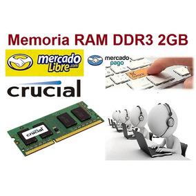 Memoria Ram 2gb Ddr3 Laptop 1333mhz Nuevas Oferta