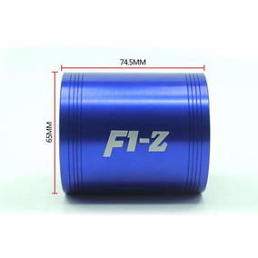 F1-z Turbo Supercharger Dual Propeller Turbina Dupla Azul