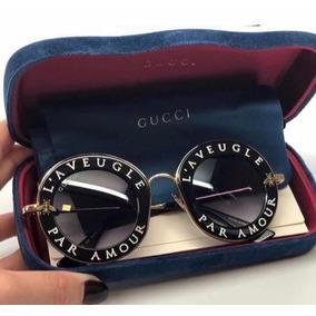 Oculos Round Preto De Sol - Óculos De Sol no Mercado Livre Brasil 581551bf9d