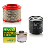 Kit De Filtros Mann Para Toyota Hilux 2.5 Td 3.0 Tdi