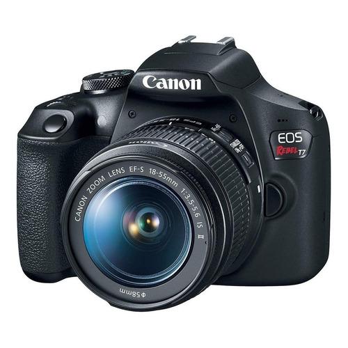 Canon EOS Rebel T7 DSLR color negro
