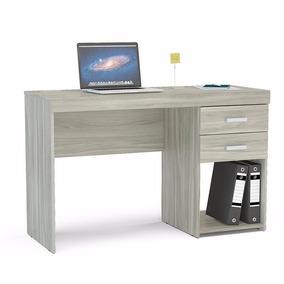 Mueble Escritorio Mesa Para Pc C/cajón Y Estante Malta Envio