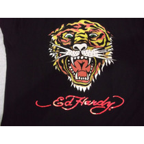 Camisa Em Malha Ed Hardy Large/grande R$69,00