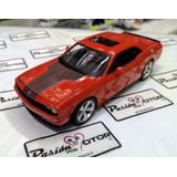 1:24 Dodge Challenger Srt8 2008 Naranja Maisto Display