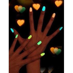 Esmalte Bk Neon Fluorescente Verde Limão Balada Noite Makeup