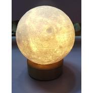Mini Lampara Luna 10cms Impresa 3d