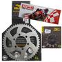 Kit Relação Transmissão Moto Dt 180/200 50x12 P428 Durag