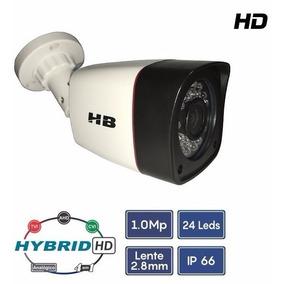 Câmera Infravermelho Hd Híbrida Até 20 Metros 4 Em 1 Hb401