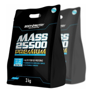 2x Hipercalórico Mass 25500 Chocolate S. 3kg Anticatabólico