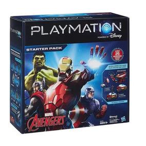 Playmation Avengers Starter Pack Vingadores Capitão América