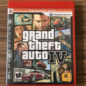 Jogo Gta Iv Grand Theft Auto 4 -ps3 - Mídia Física Seminovo