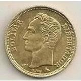 = Venezuela Bañado En Oro 18k Real De Plata 1960