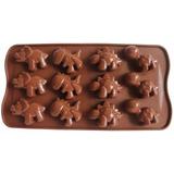 Forma Molde De Silicone P Chocolate Bombom Dinossauro A69