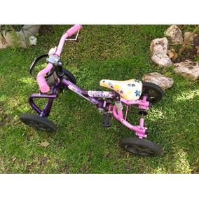 Triciclo De Cuatro Ruedas A Pedal, Con Canasto