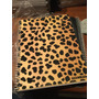 Cuaderno Universitario Leopardo Animal Print Cuadric. 80 Hoj