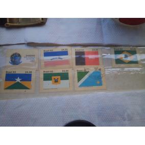 Bandeiras Dos Estados, 7 Selos Por 420,00