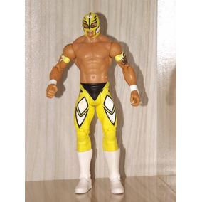 Boneco Wwe Mattel Rey Mysterio Battle Pack Series 33