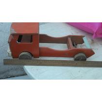 Camion De Madera Años 60 Leer
