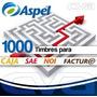 Aspel 1000 Timbres (para Facture, Caja, Sae O Noi) (fisico)