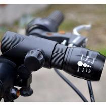 Lampara Cree 3en1 Faro Auxiliar Para Bicicleta Motoneta Moto