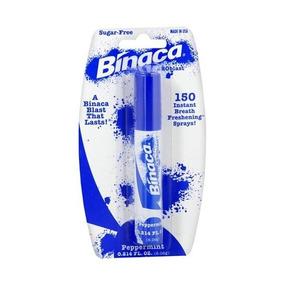 Binaca Explosión Aliento Spray Sabor De Menta (paquete De 6)